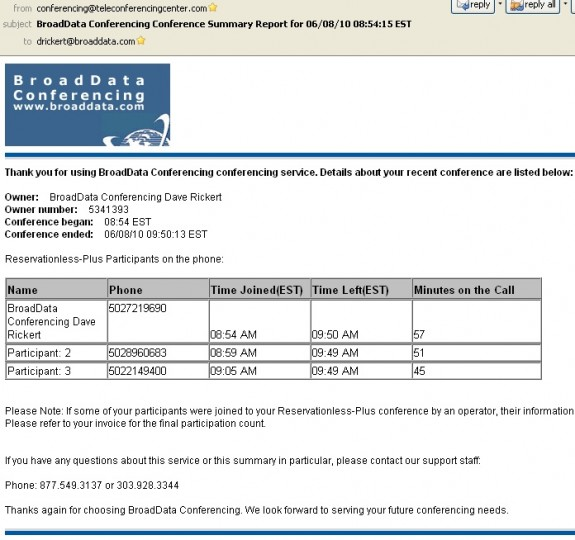 sample invoice for service