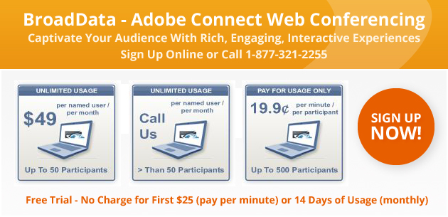 BroadData - Adobe Connect Web Conferencing